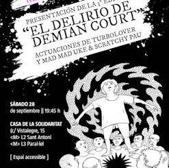 """Silvia Resorte : Presentación del libro """"El delirio de Demian Court"""", 28 de septiembre 2019, en Barcelona"""
