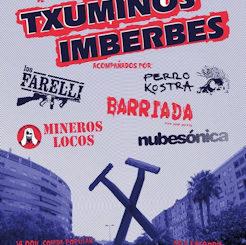 Txuminos Imberbes : Concierto 25 aniversario, 21 de septiembre 2019 en Jerez de la Frontera (Cádiz)