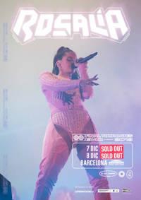 Rosalía: También agota las entradas de su segundo concierto en Barcelona