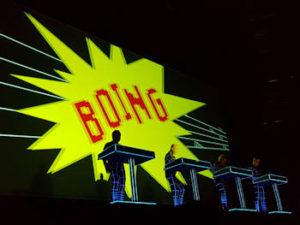 BIME Live, Kraftwerk : Espectáculo visual 3D