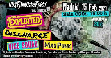 No Future Fest: Madpunk se une al Volumen 4