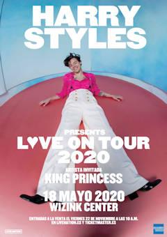 Harry Styles: 18 de mayo, concierto en Madrid