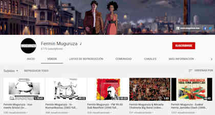 Fermin Muguruza: Sube a YouTube álbumes y documentales