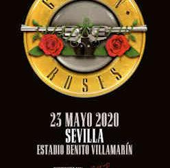 Guns N' Roses : En Sevilla, mayo de 2020, única fecha en nuestro país