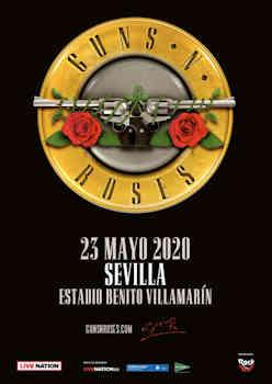 Guns N' Roses: En Sevilla, mayo de 2020, única fecha en nuestro país