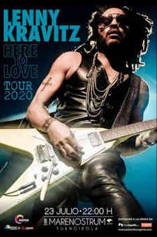 "Lenny Kravitz vendrá a España en su gira ""Here to Love Tour 2020"""