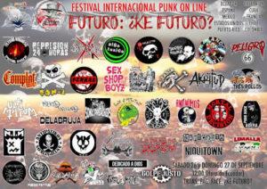 Futuro ¿Ke futuro? : Festival internacional punk on line, primera edición