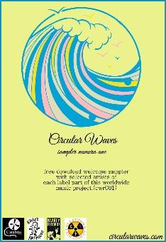 """Circular Waves Recs: """"Sampler número one"""", disponible primer lanzamiento del sello de sellos"""