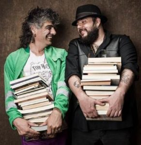 Kike Babas, Kutxi Romero : Carteándose como dos enamorados
