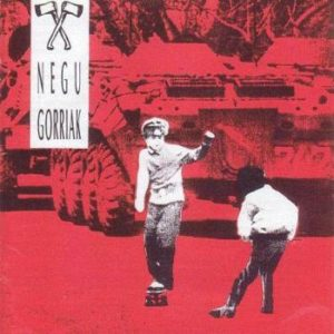 Negu Gorriak : Negu Gorriak (Reedición en vinilo, LP)