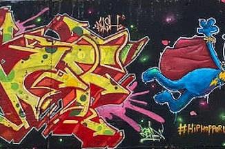 Hip Hop con los Super Héroes Reales : 4 pilares trabajando juntos